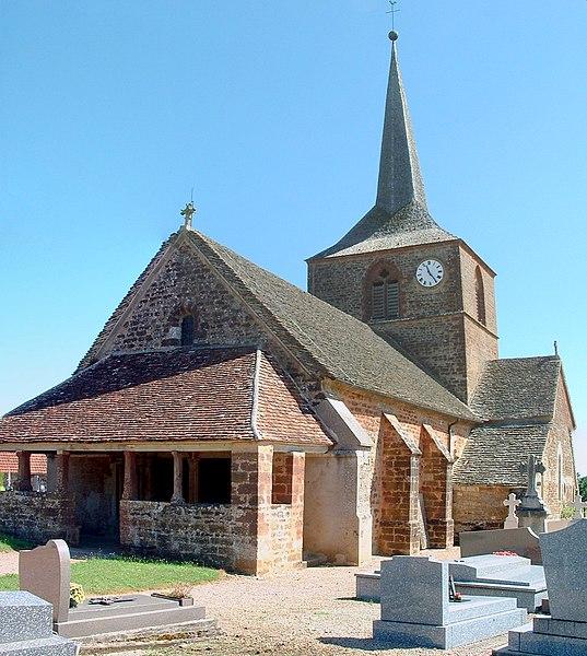Photo du Monument Historique Eglise situé à Savigny-en-Terre-Plaine