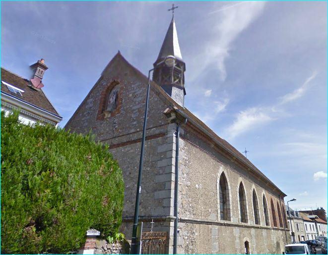 Photo du Monument Historique Eglise Sainte-Mathie situé à Sens
