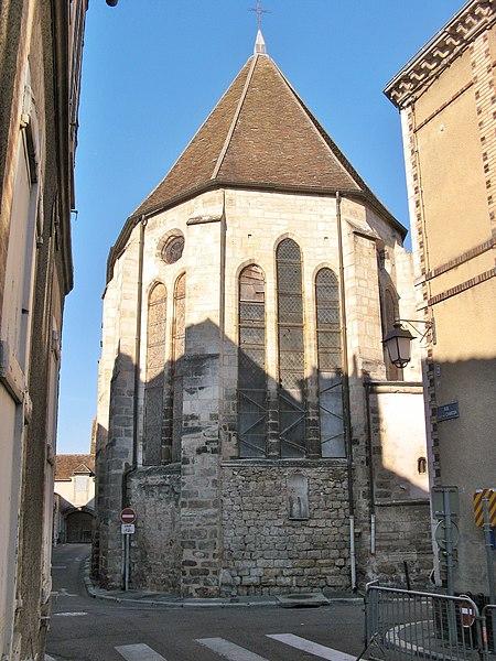 Photo du Monument Historique Eglise Saint-Pierre-le-Rond situé à Sens