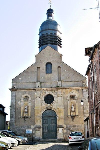 Photo du Monument Historique Eglise Saint-Preigts situé à Sens