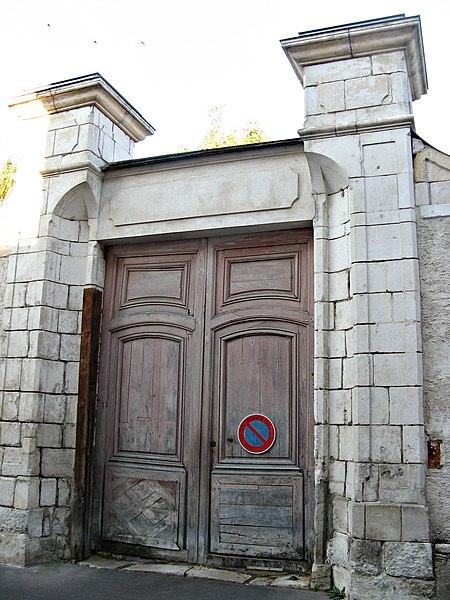 Photo du Monument Historique Hôtel situé à Sens