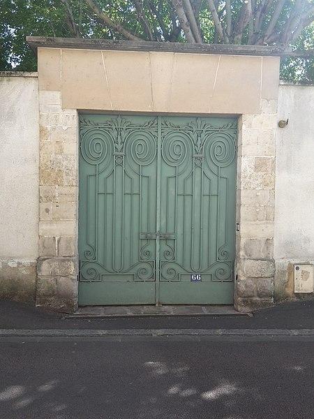 Photo du Monument Historique Immeuble situé à Sens