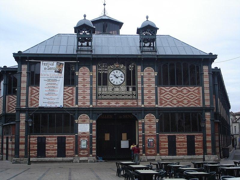 Photo du Monument Historique Marché couvert situé à Sens