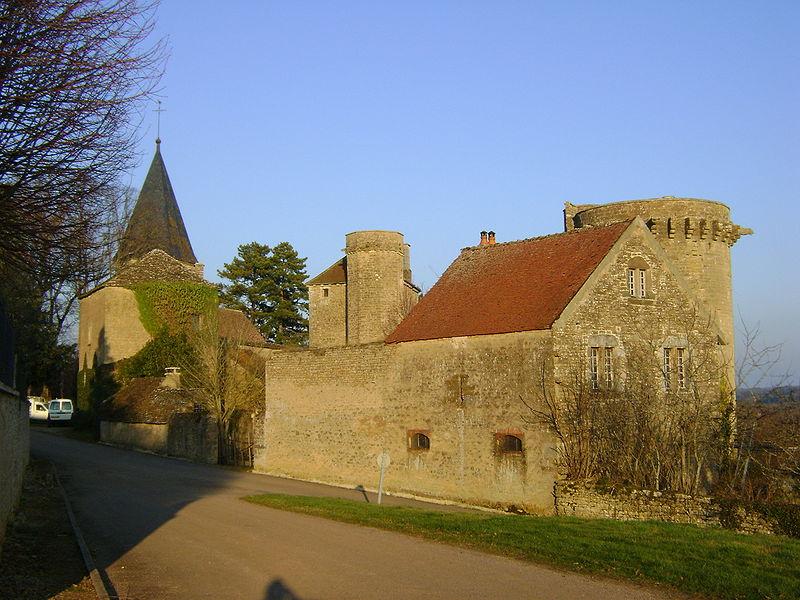Photo du Monument Historique Château situé à Thizy