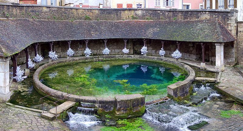 Photo du Monument Historique Fosse-Dionne situé à Tonnerre