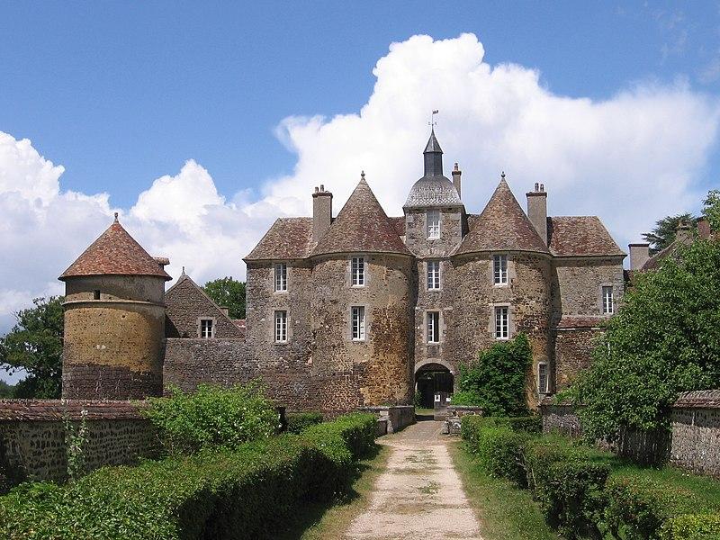 Photo du Monument Historique Château de Ratilly situé à Treigny
