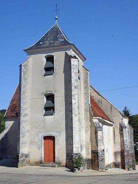 Photo du Monument Historique Eglise situé à Trichey