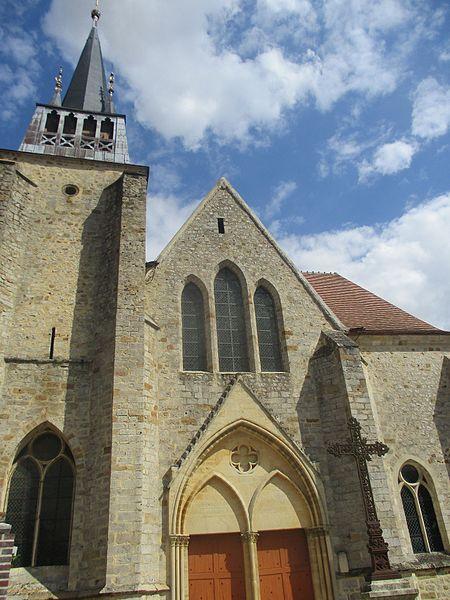 Photo du Monument Historique Eglise Notre-Dame situé à Villeneuve-l'Archevêque