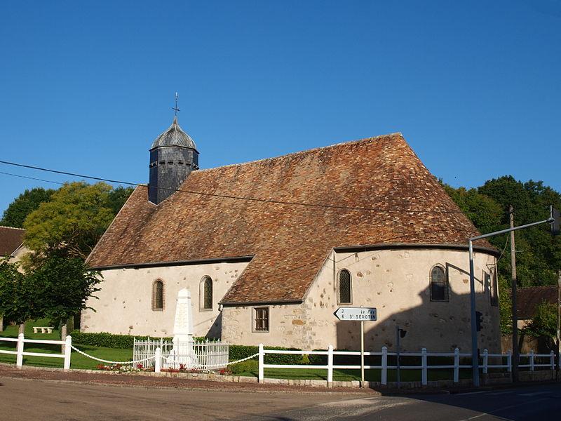 Photo du Monument Historique Eglise situé à Villeperrot