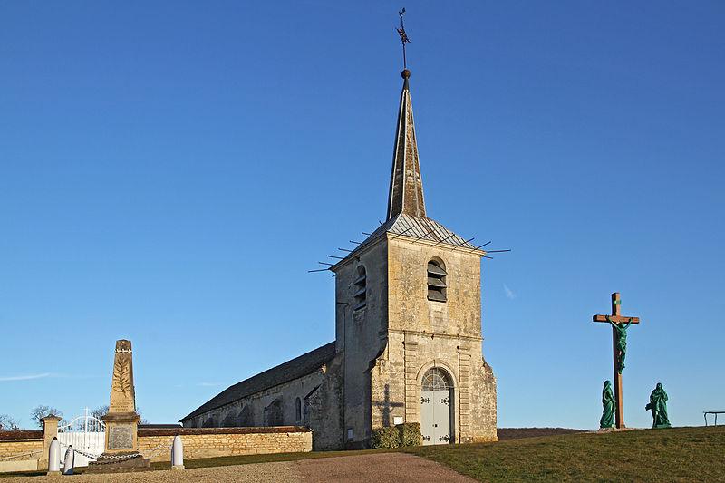 Photo du Monument Historique Eglise situé à Voutenay-sur-Cure