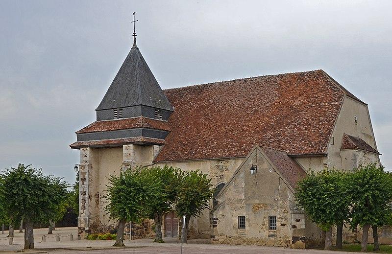 Photo du Monument Historique Eglise Saint-Sébastien et Saint-Louis situé à Héry