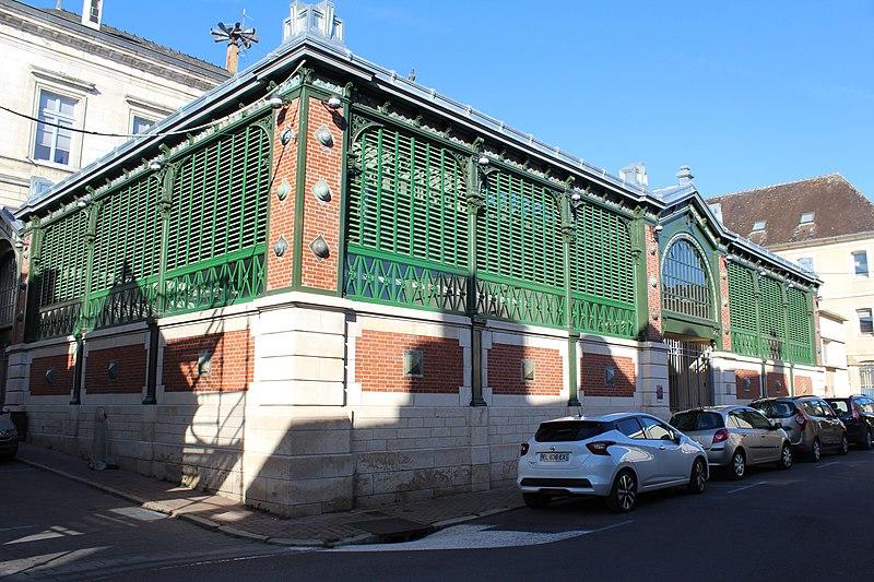 Photo du Monument Historique Marché couvert situé à Tonnerre