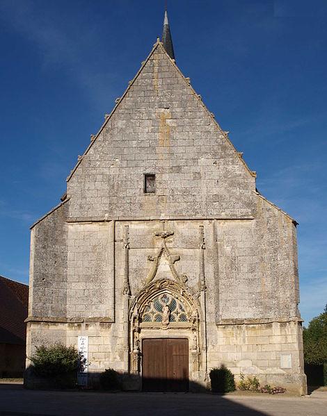 Photo du Monument Historique Eglise Saint-Marien situé à Fontenoy