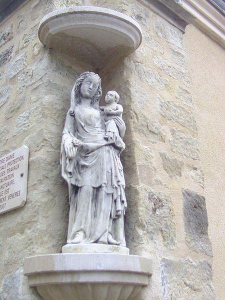 Photo du Monument Historique Eglise Saint-Loup situé à Cézy