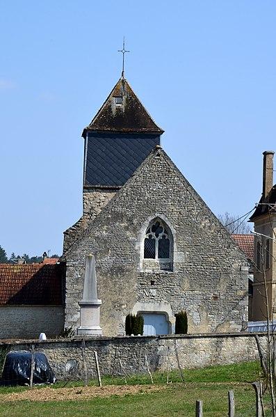 Photo du Monument Historique Eglise Saint-Maixent situé à Ancy-le-Libre