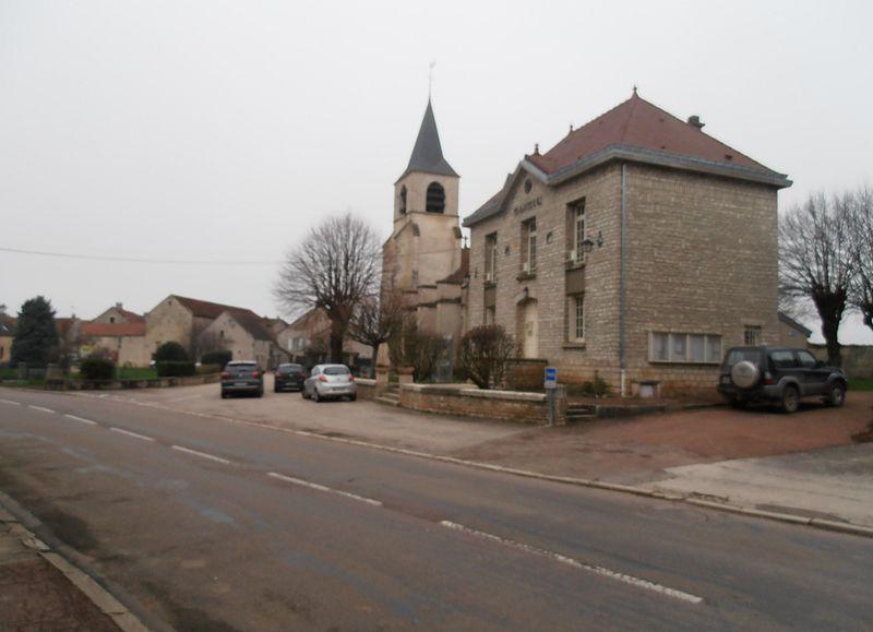 Photo du Monument Historique Eglise Saint-Christophe situé à Nitry