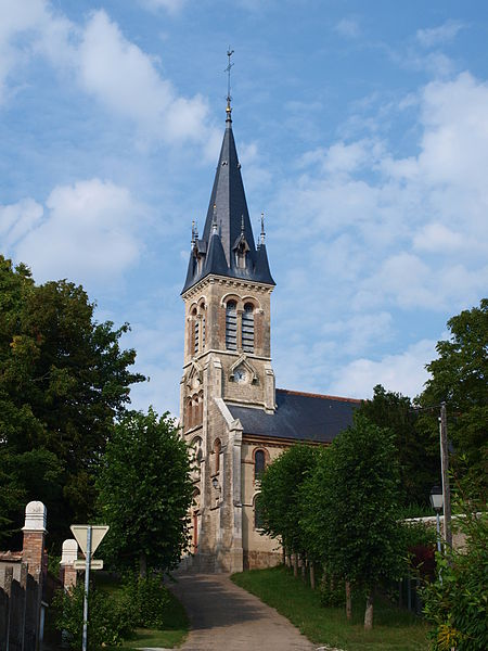 Photo du Monument Historique Eglise Saint-Thomas de Cantorbéry situé à Vallery
