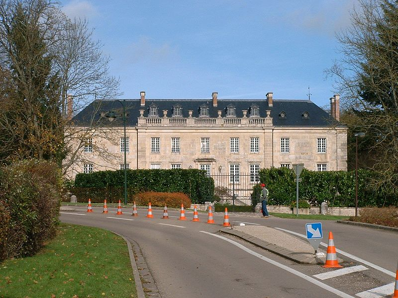 Photo du Monument Historique Château situé à Sauvigny-le-Bois