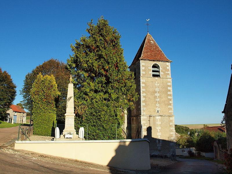 Photo du Monument Historique Eglise Saint-Menge situé à Merry-Sec