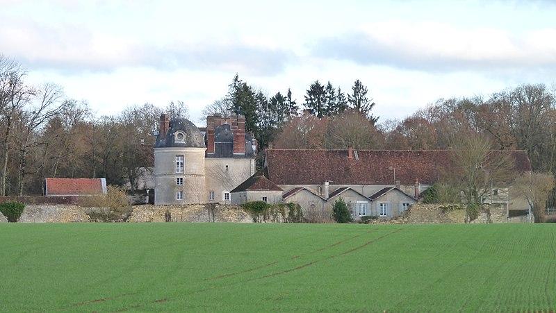 Photo du Monument Historique Château des Barres situé à Sainpuits