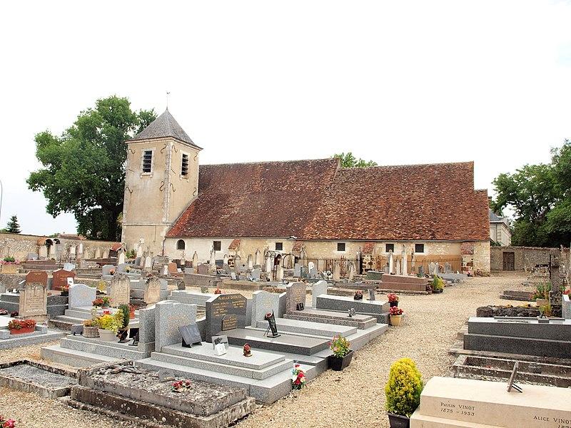 Photo du Monument Historique Eglise Saint-Martin situé à Branches