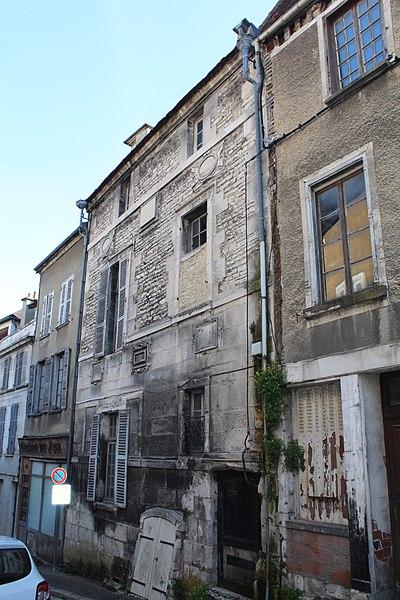 Photo du Monument Historique Hôtel Gauthier de Sibert situé à Tonnerre