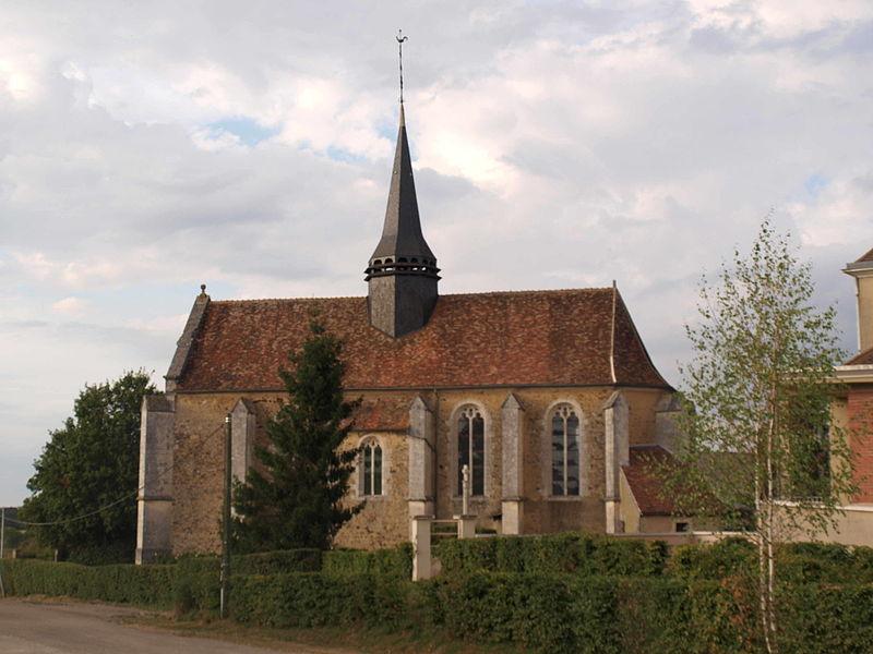 Photo du Monument Historique Eglise Saint-Jacques et Saint-Marcel situé à Lalande