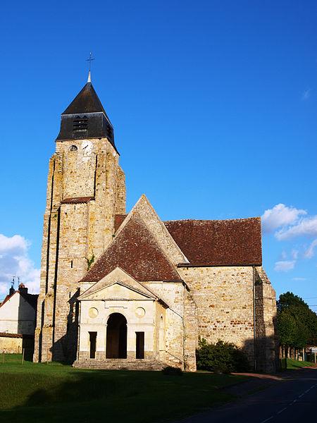 Photo du Monument Historique Eglise Saint-Pierre et Saint-Paul situé à Thorigny-sur-Oreuse