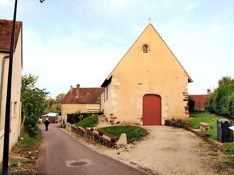 Photo du Monument Historique Chapelle Saint-Baudel situé à Pourrain