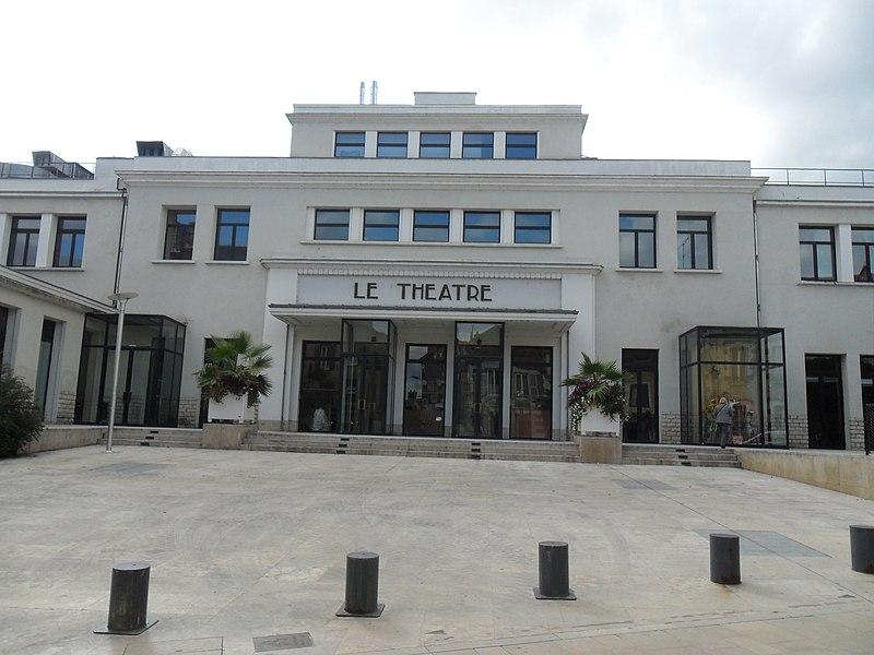 Photo du Monument Historique Théâtre municipal (ancienne Maison du Peuple) situé à Auxerre