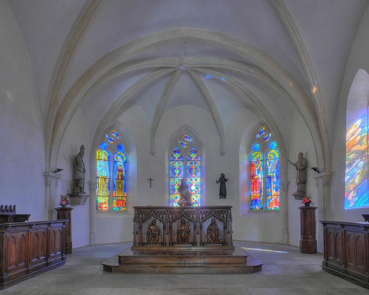 Photo du Monument Historique Eglise de Brasse  , actuellement chapelle du cimetière situé à Belfort