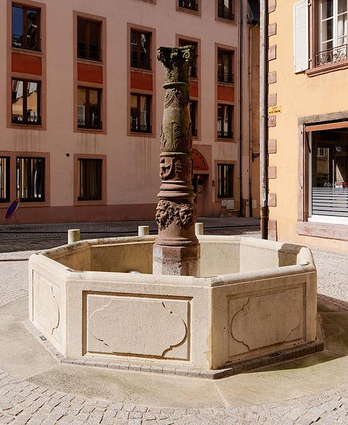 Photo du Monument Historique Petite fontaine situé à Belfort