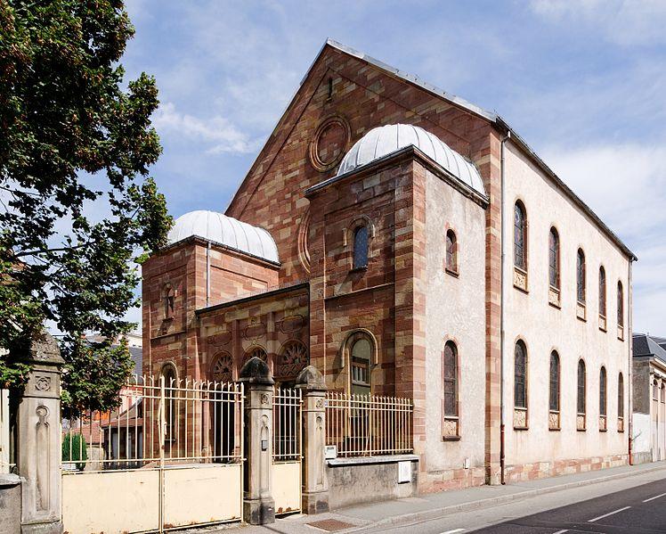 Photo du Monument Historique Synagogue situé à Belfort