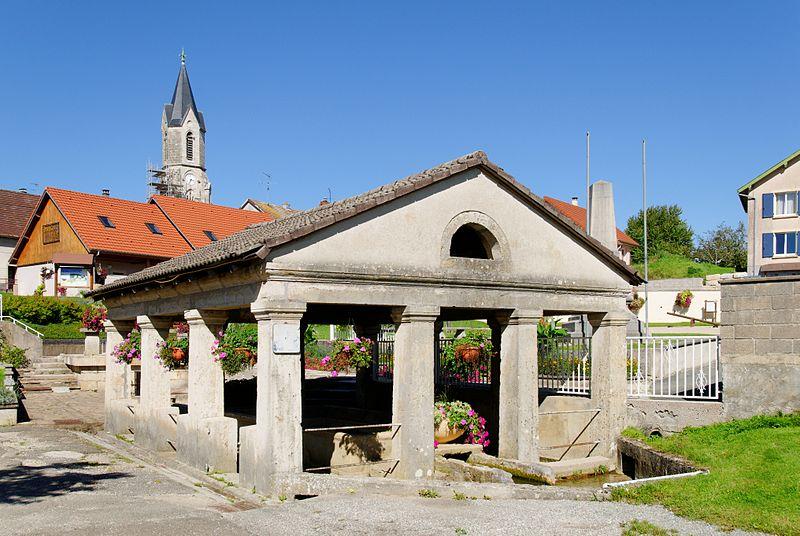 Photo du Monument Historique Lavoir situé à Fêche-l'Eglise