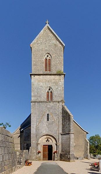 Photo du Monument Historique Eglise situé à Saint-Dizier-l'Evêque