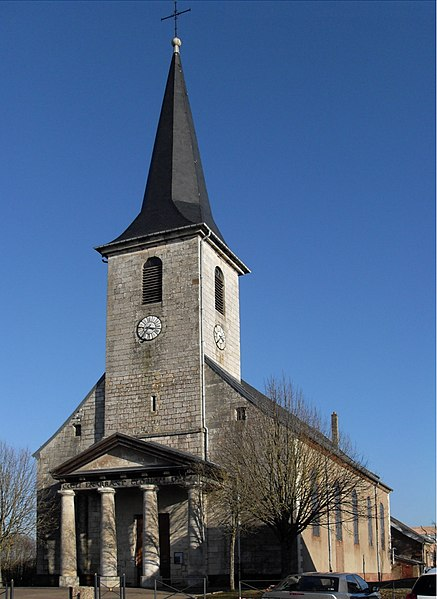 Photo du Monument Historique Eglise situé à Chèvremont