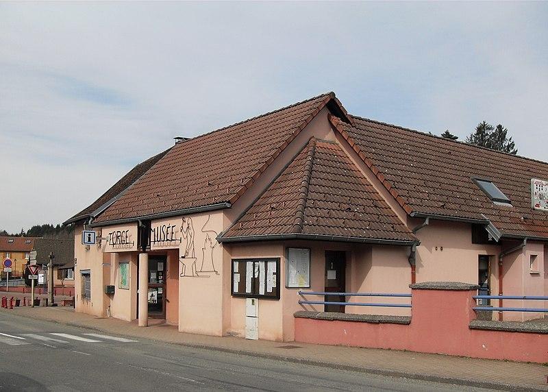 Photo du Monument Historique Forge, actuellement musée situé à Etueffont
