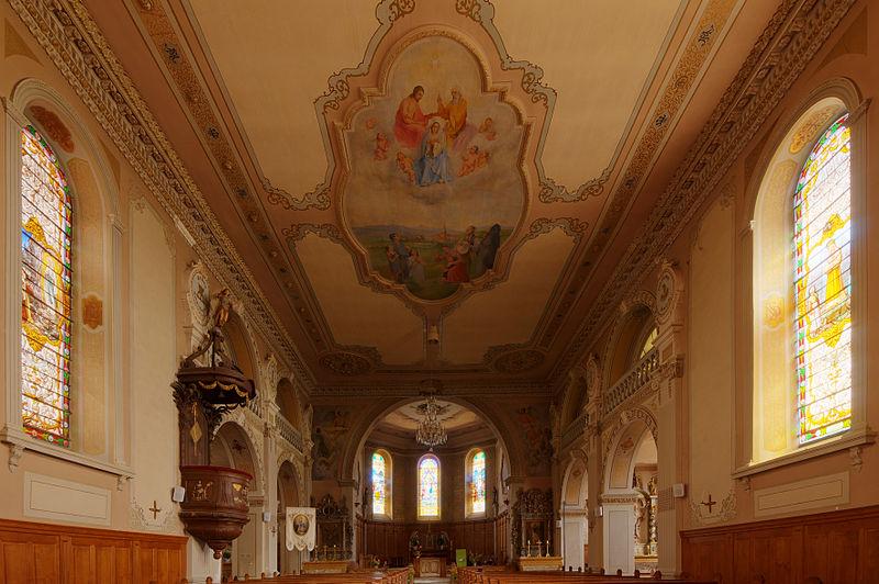Photo du Monument Historique Eglise Notre-Dame de l'Assomption situé à Phaffans