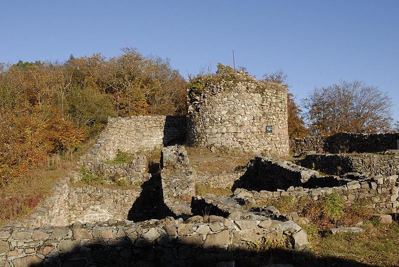 Photo du Monument Historique Château situé à Rougemont-le-Château