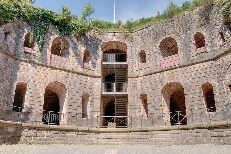 Photo du Monument Historique Fort Dorsner (également sur commune d'Auxelles-Bas) situé à Giromagny
