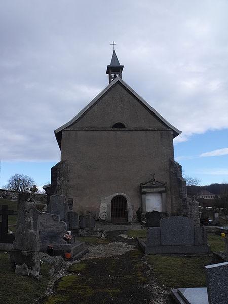 Photo du Monument Historique Chapelle du cimetière situé à Réchésy