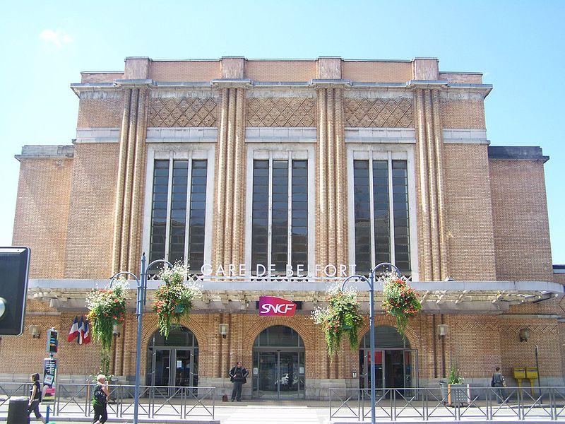 Photo du Monument Historique Gare de Belfort situé à Belfort