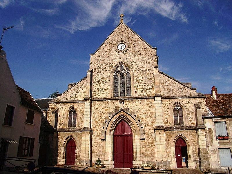 Photo du Monument Historique Eglise Saint-Clément situé à Arpajon