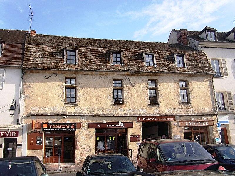 Photo du Monument Historique Maison du 15s situé à Arpajon