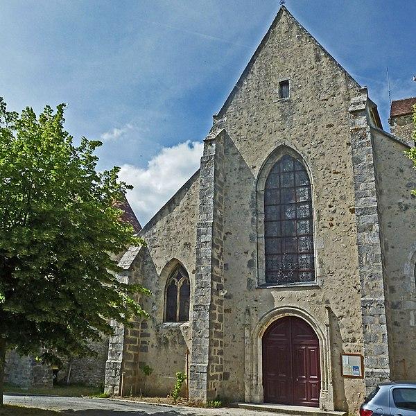 Photo du Monument Historique Eglise Saint-Georges situé à Auvers-Saint-Georges