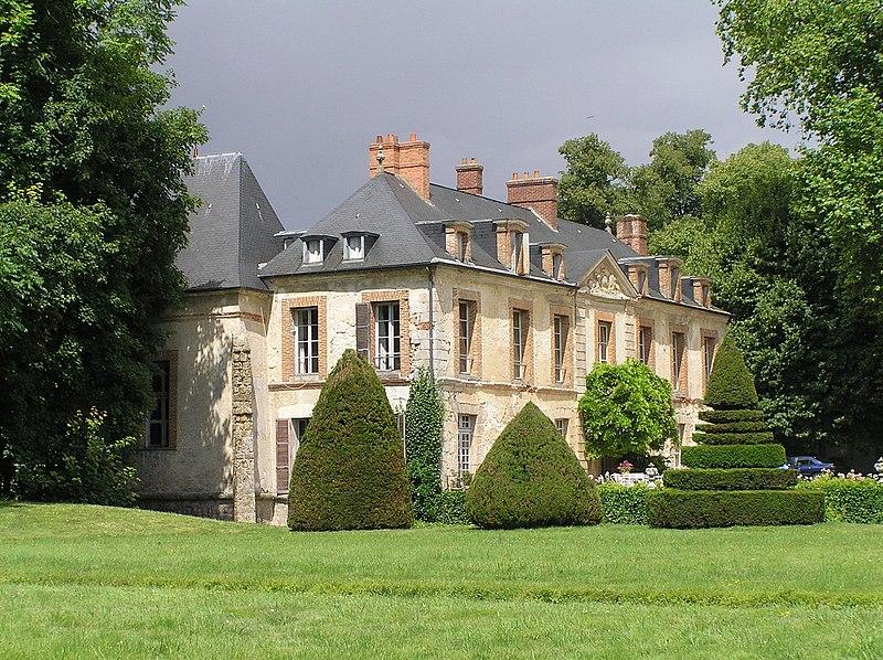 Photo du Monument Historique Château du Grand-Saussay situé à Ballancourt-sur-Essonne