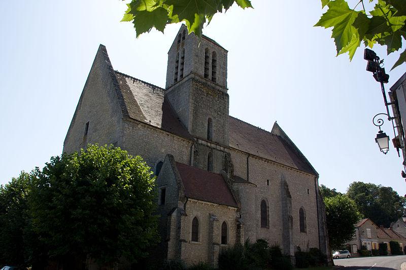 Photo du Monument Historique Eglise Notre-Dame-de-l'Assomption situé à Boigneville
