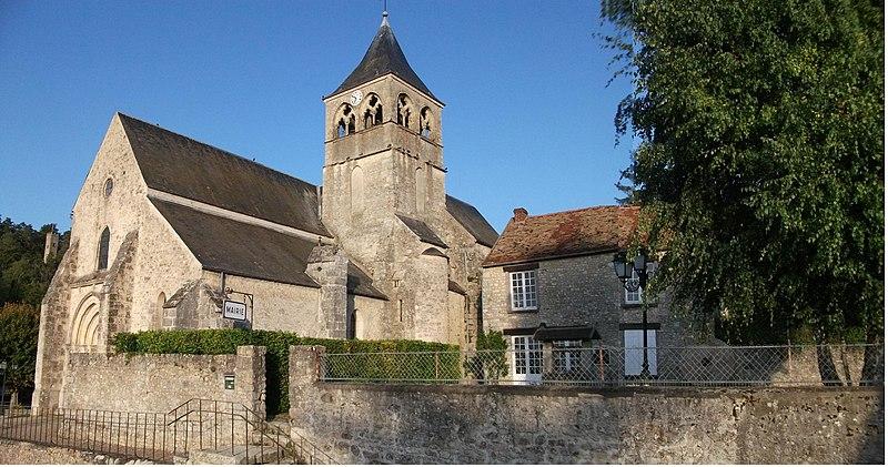 Photo du Monument Historique Eglise situé à Boissy-la-Rivière