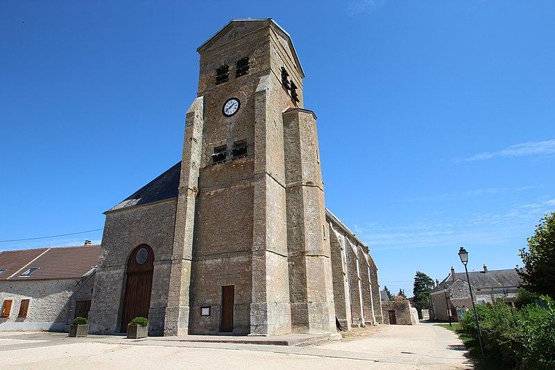 Photo du Monument Historique Eglise Saint-Louis situé à Boissy-le-Sec