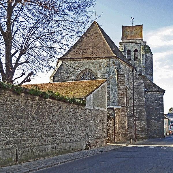 Photo du Monument Historique Eglise Saint-Thomas-Becket situé à Boissy-sous-Saint-Yon